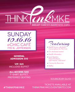 Think Pink flyer